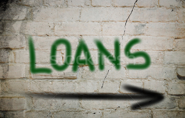 Loans Concept Stock photo © KrasimiraNevenova
