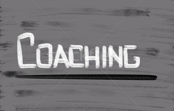 Stock photo: Coaching Concept