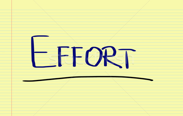 Effort Concept Stock photo © KrasimiraNevenova
