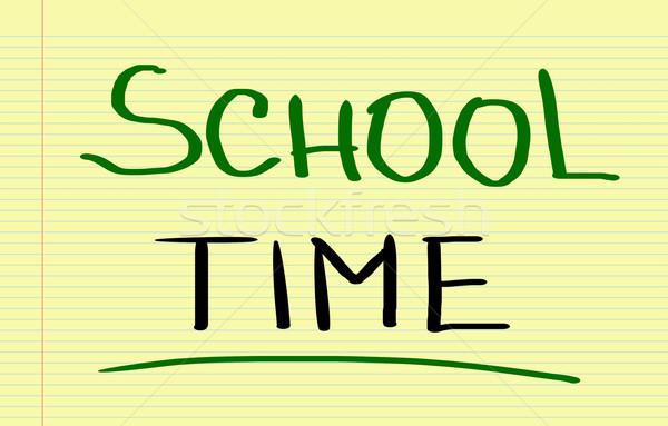 School Time Concept Stock photo © KrasimiraNevenova