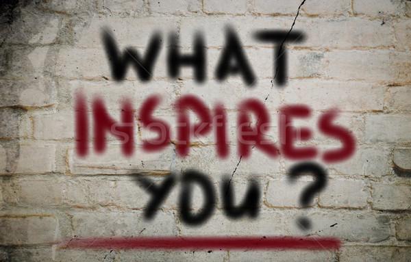 Inspirer fond succès bord objectif développement Photo stock © KrasimiraNevenova