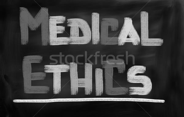 Medici etica business medico felice salute Foto d'archivio © KrasimiraNevenova
