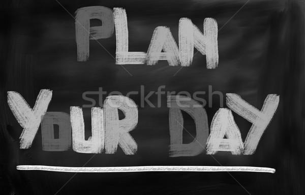 計画 日 データ 文書 金融 管理 ストックフォト © KrasimiraNevenova