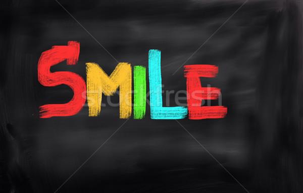 Smile Concept Stock photo © KrasimiraNevenova