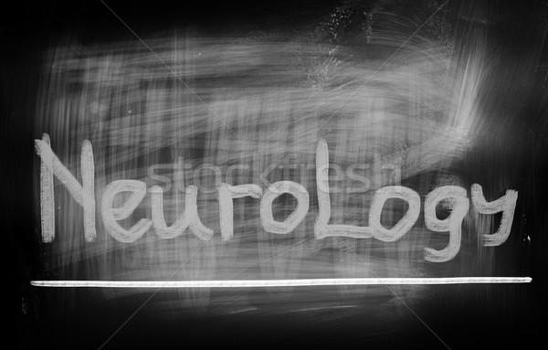 Medici cervello mente testo sanitaria mal di testa Foto d'archivio © KrasimiraNevenova