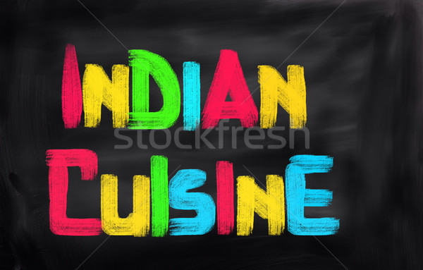 Indian Food Concept Stock photo © KrasimiraNevenova
