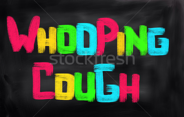 Whooping Cough Concept Stock photo © KrasimiraNevenova