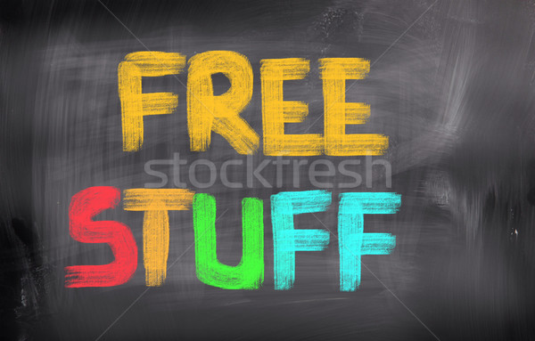 Free Stuff Concept Stock photo © KrasimiraNevenova