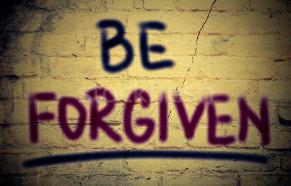Be Forgiven Concept Stock photo © KrasimiraNevenova