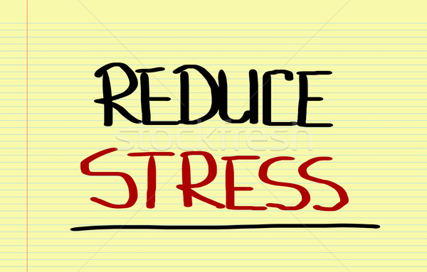 Reduce Stress Concept Stock photo © KrasimiraNevenova