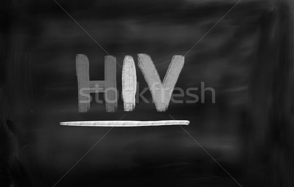 Médico saúde ciência vida vírus proteção Foto stock © KrasimiraNevenova