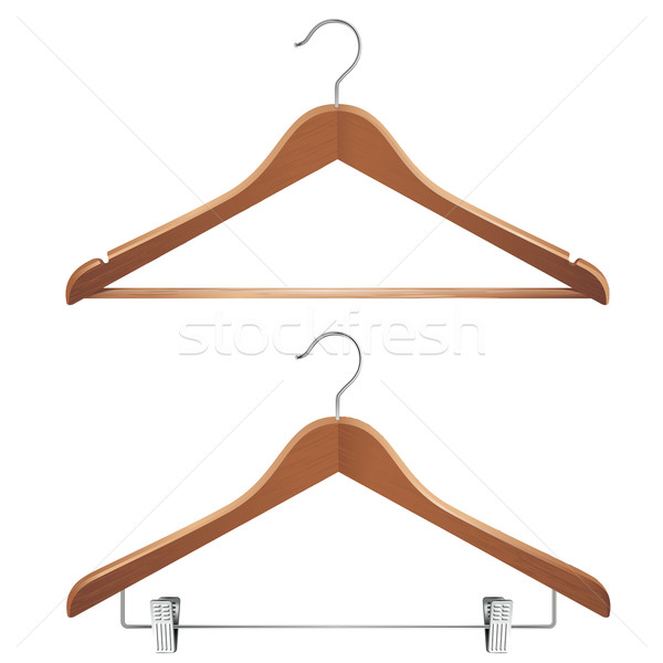 clothes hangers Stock photo © kraska