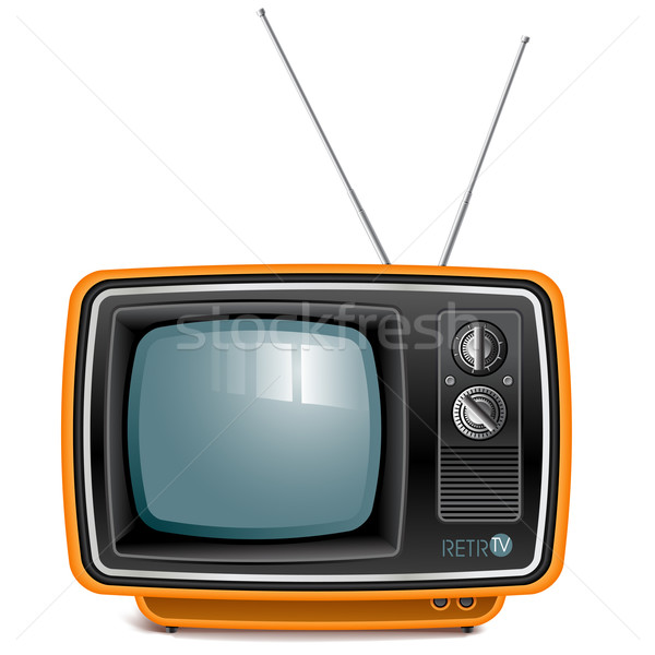 retro tv Stock photo © kraska