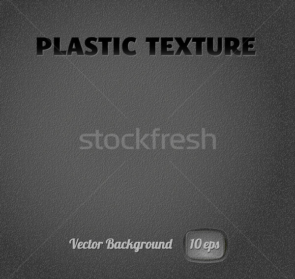 Plastique texture noir facile vecteur eps10 Photo stock © kraska