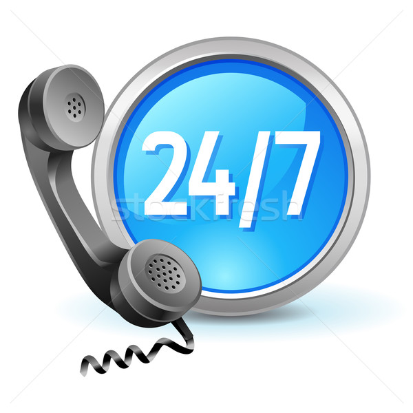 call-center icon Stock photo © kraska