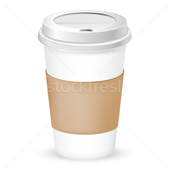 paper coffee cup Stock photo © kraska