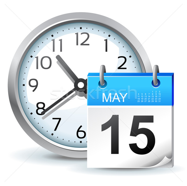 schedule icon Stock photo © kraska