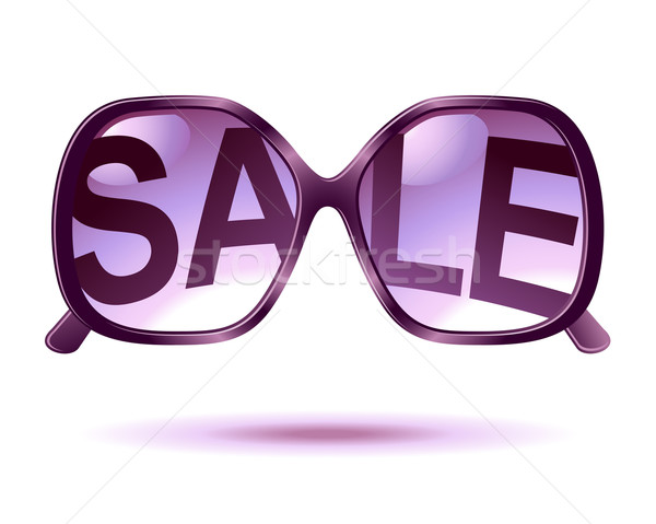 sale sunglasses icon Stock photo © kraska