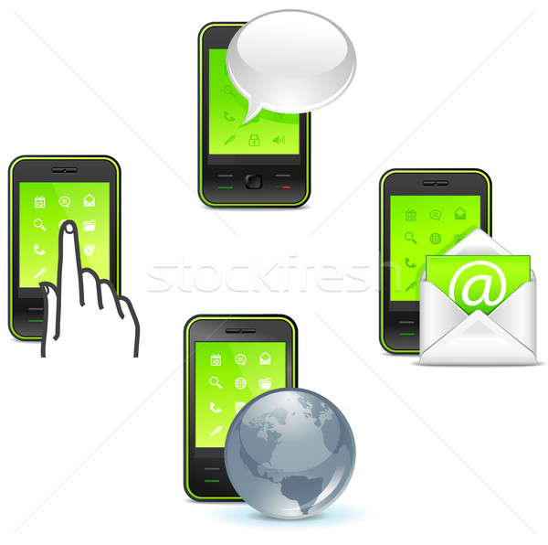 business phone Stock photo © kraska