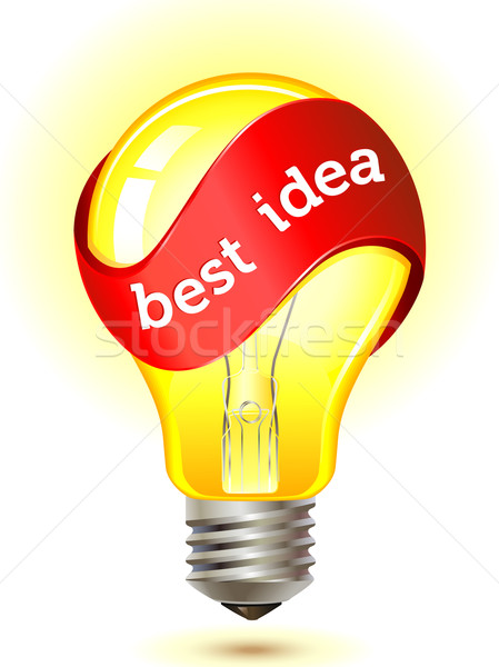 best idea concept Stock photo © kraska