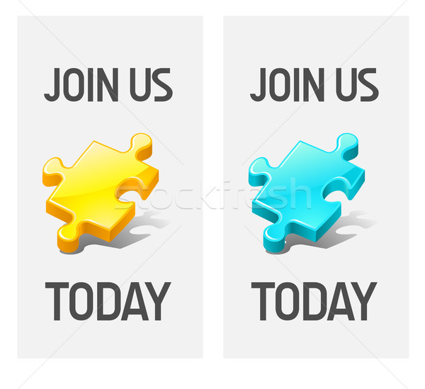join us icons Stock photo © kraska