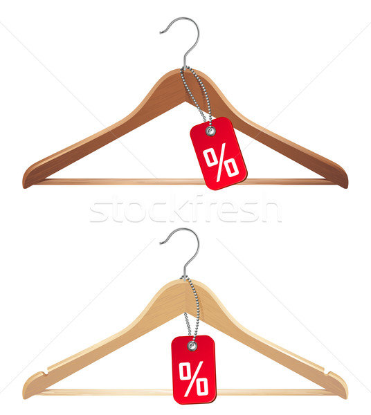 hanger with sale tag Stock photo © kraska