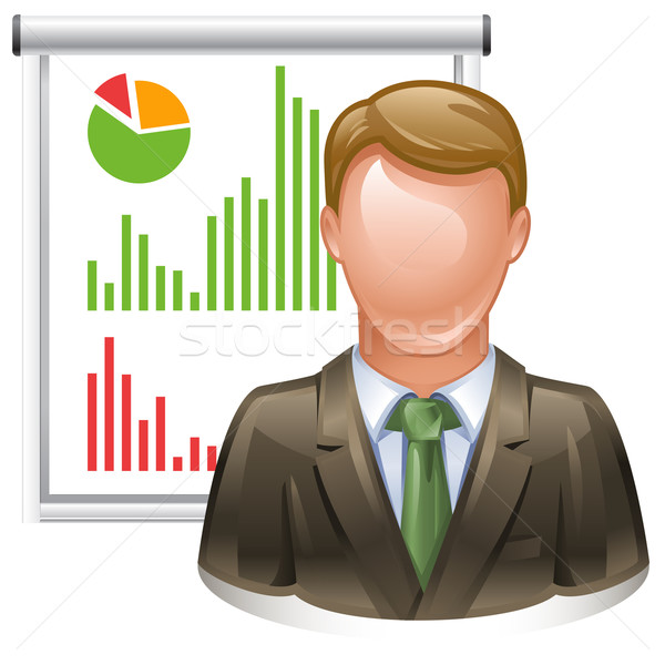 presentation icon Stock photo © kraska