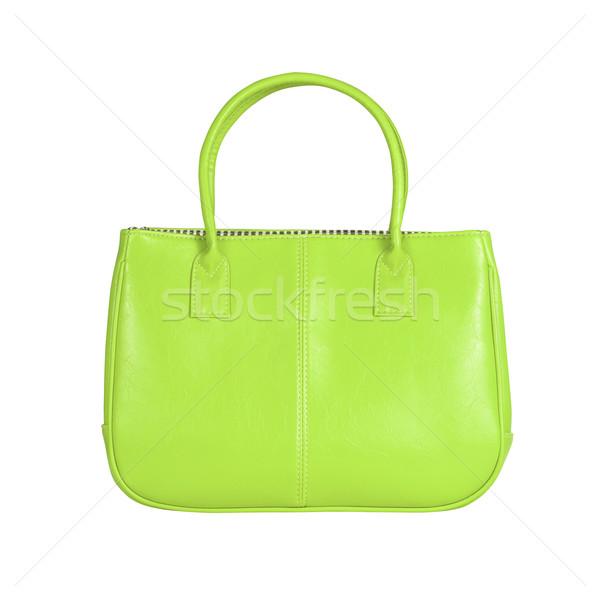 Green female bag Stock photo © kravcs