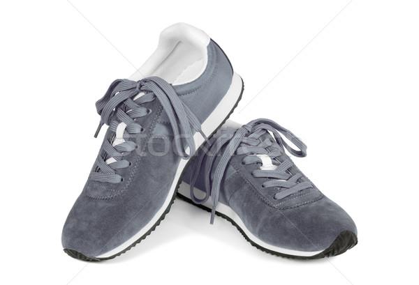 кроссовки изолированный белый случайный стиль кроссовки Сток-фото © kravcs