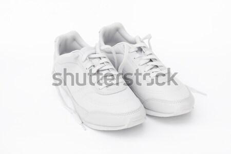 кроссовки пару белый спорт спортивных обувь Сток-фото © kravcs