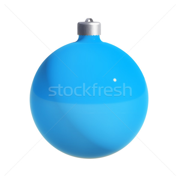 Christmas Ball w/ path Stock photo © kravcs