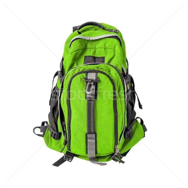 рюкзак изолированный пути изображение рюкзак белый Сток-фото © kravcs