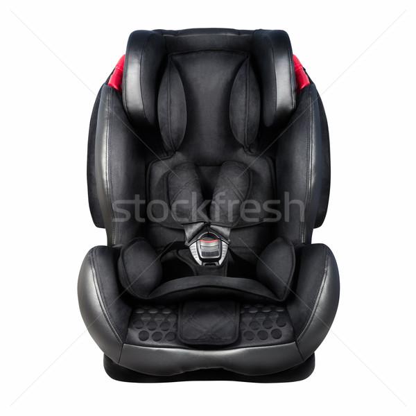 Kind veiligheid zitting baby auto geïsoleerd Stockfoto © kravcs