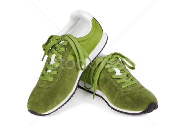 Running shoes isolated on white Stock photo © kravcs