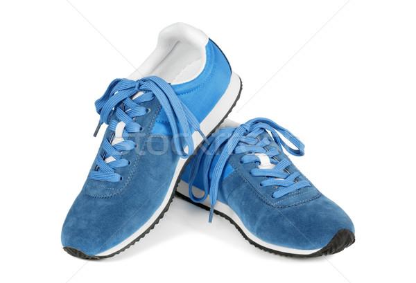 Zapatillas aislado blanco casual estilo Foto stock © kravcs