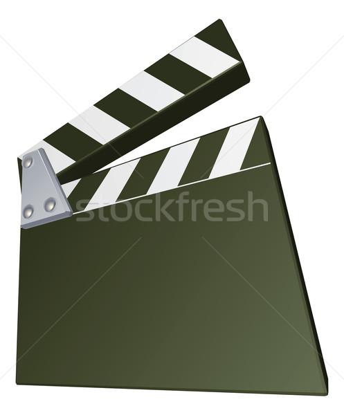 Film clapperboard Stock photo © Krisdog