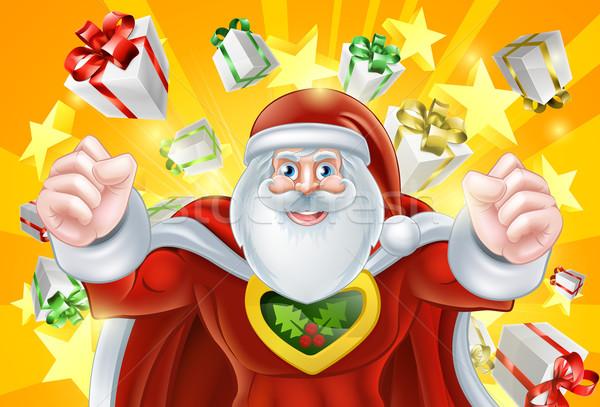 Santa Claus Hero Stock photo © Krisdog