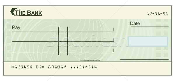 проверка иллюстрация зеленый бумаги книга фон Сток-фото © Krisdog