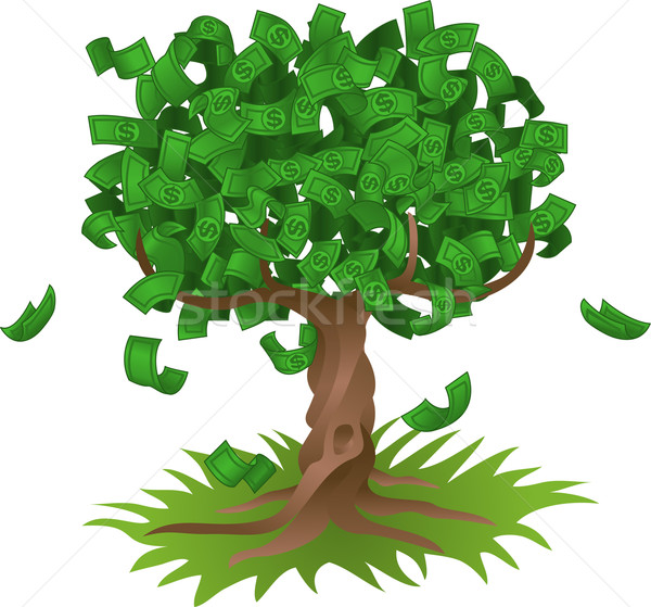 Money growing on tree Stock photo © Krisdog