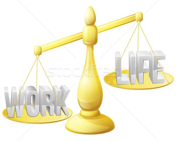 Too much work concept Stock photo © Krisdog