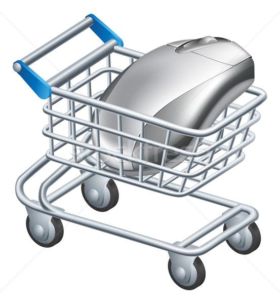 Online internet shopping concept Stock photo © Krisdog