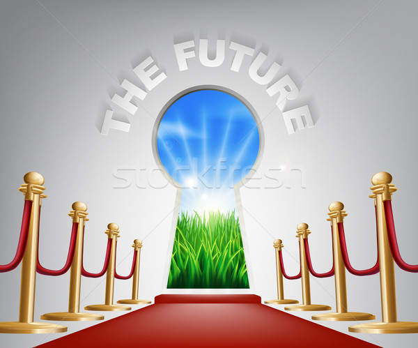The Future conceptual illustration Stock photo © Krisdog