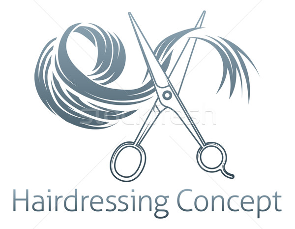 Hairdressing Concept Stock photo © Krisdog