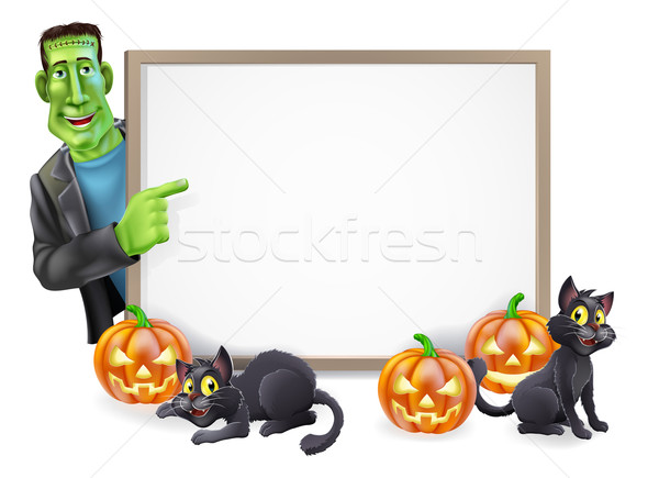 Halloween Illustration Stock photo © Krisdog