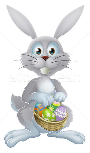 Easter eggs bunny Stock photo © Krisdog