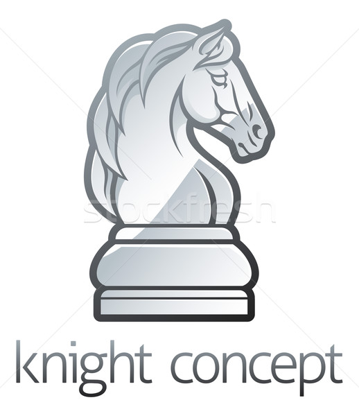 Knight Chess Piece Concept Stock photo © Krisdog