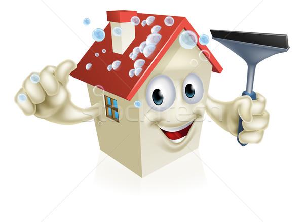 House Holding Squeegee Stock photo © Krisdog