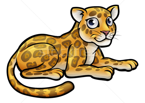 Leopard or Jaguar Cartoon Stock photo © Krisdog