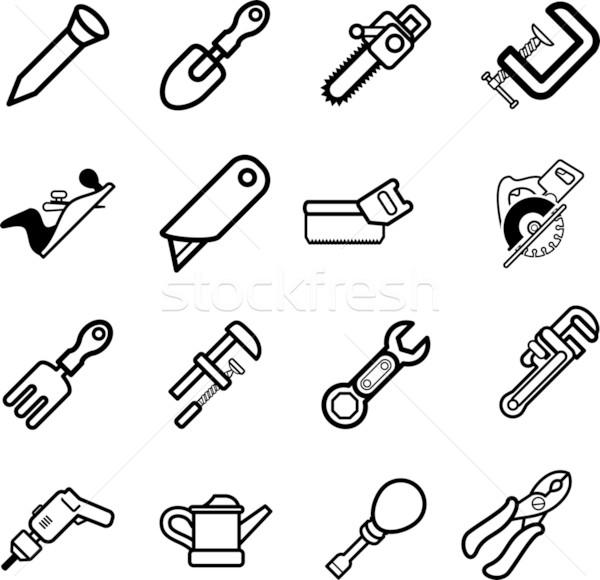 tool icons  Stock photo © Krisdog