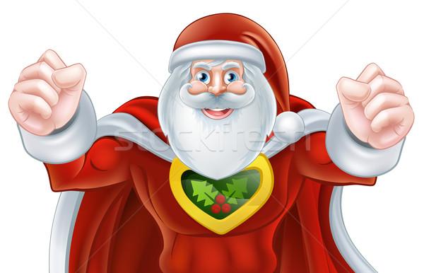 Santa Christmas Hero Stock photo © Krisdog